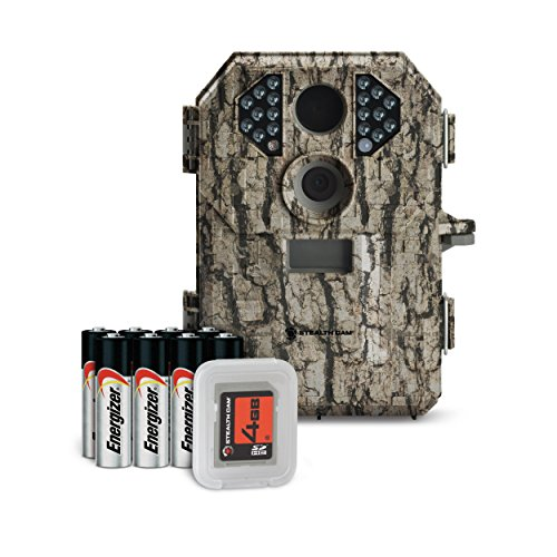 Stealthcam P18 7 Megapixel Compact Scouting Camera with Batteries and SD Card, Camouflage