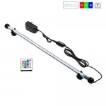 T Tocas(tm) RGB Romote Controller Colorful LED Aquarium Fish Tank Light Lighting Underwater Tank Light Bar Safety (22-inches)