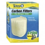 Tetra Whisper EX Carbon Filter Cartridges, Medium, 4-Count