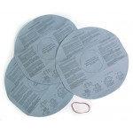 Multi-Fit VF2002 Disposable Filter Bags for Wet Dry Shop Vacuum, 3-Pack - Fits Most Shop-Vac & More
