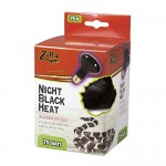 Zilla 09929 Night Black Heat Incandescent Spot Bulb, 75-Watt