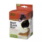 Zilla 09930 Night Black Heat Incandescent Spot Bulb, 100-Watt