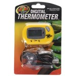 Zoo Med Laboratories TH24 Digital Terrarium Thermometer, 3 x 2 x 1""