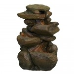 Zoo Med Labratories 26372 Repti Rapids LED Rock Waterfall, Small