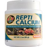 Zoo Med Reptile Calcium without Vitamin D3, 85 Grams