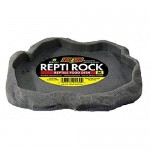 Zoo Med Reptile Rock Food Dish, Medium